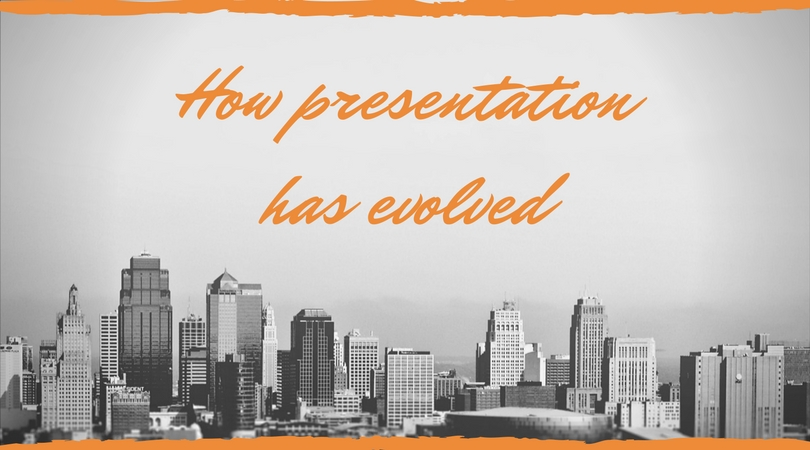 how presentation design has evolved