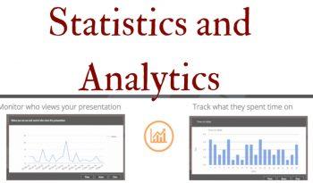 Statistics and Analytics