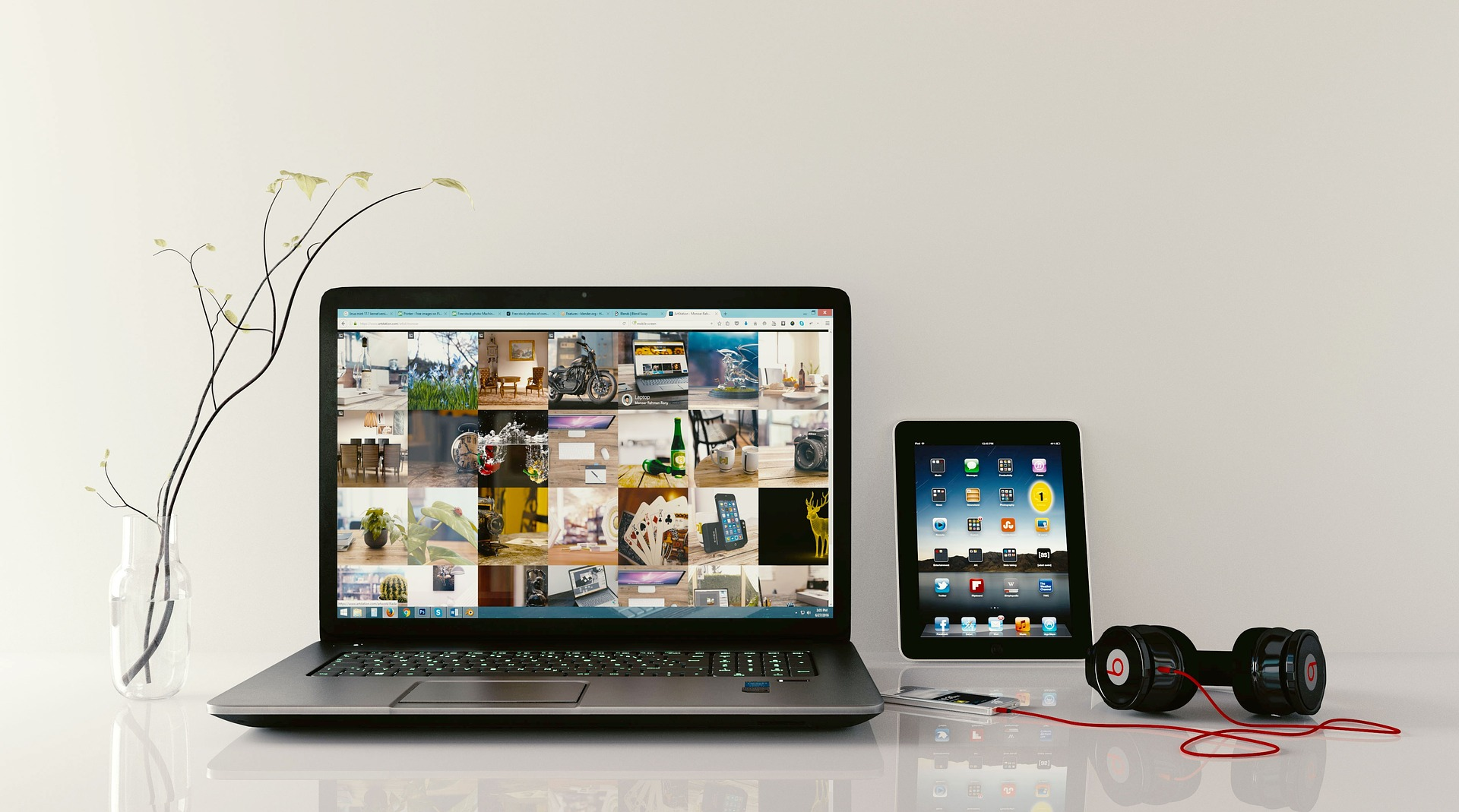 online presentations- laptop