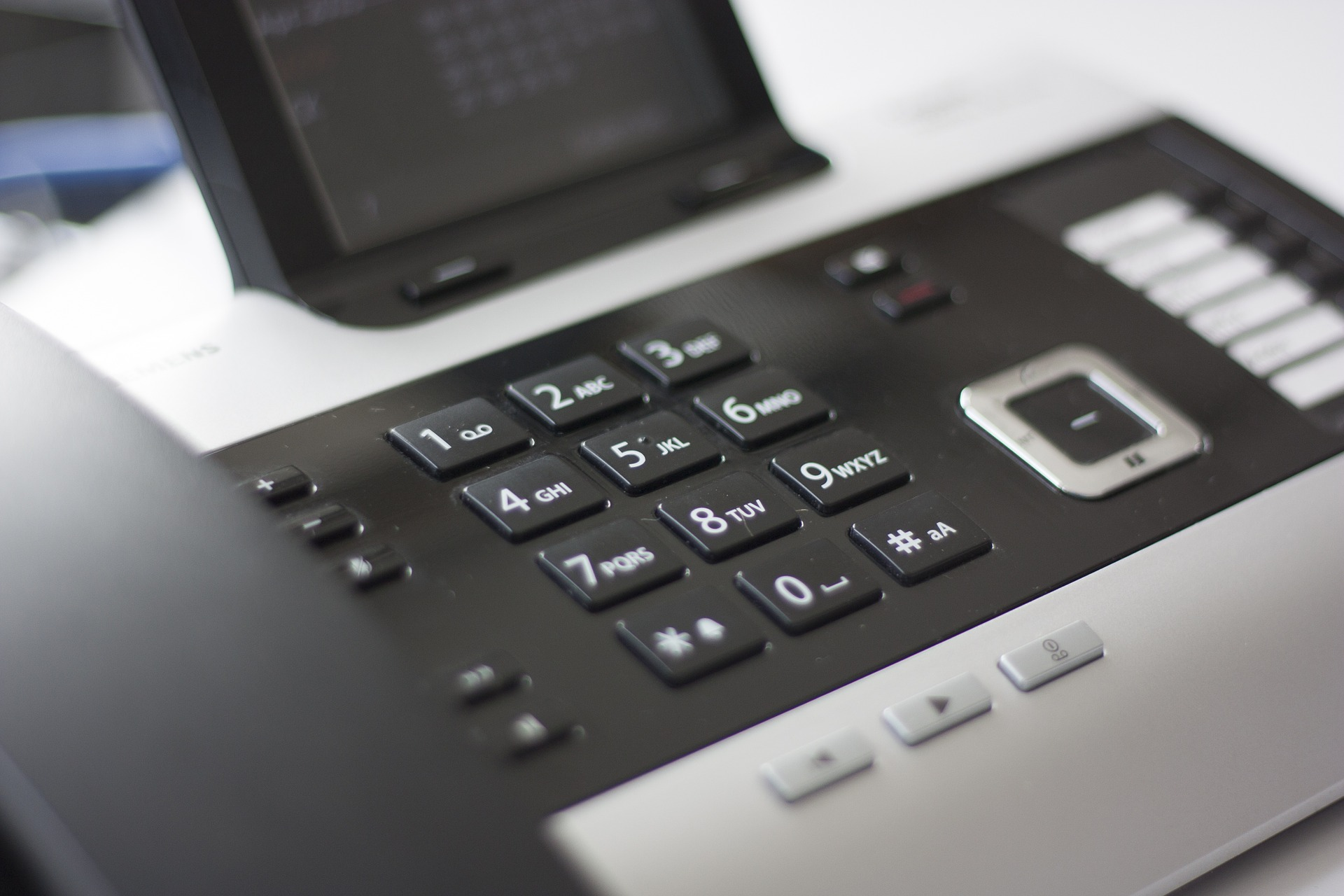 phone for a remote meeting