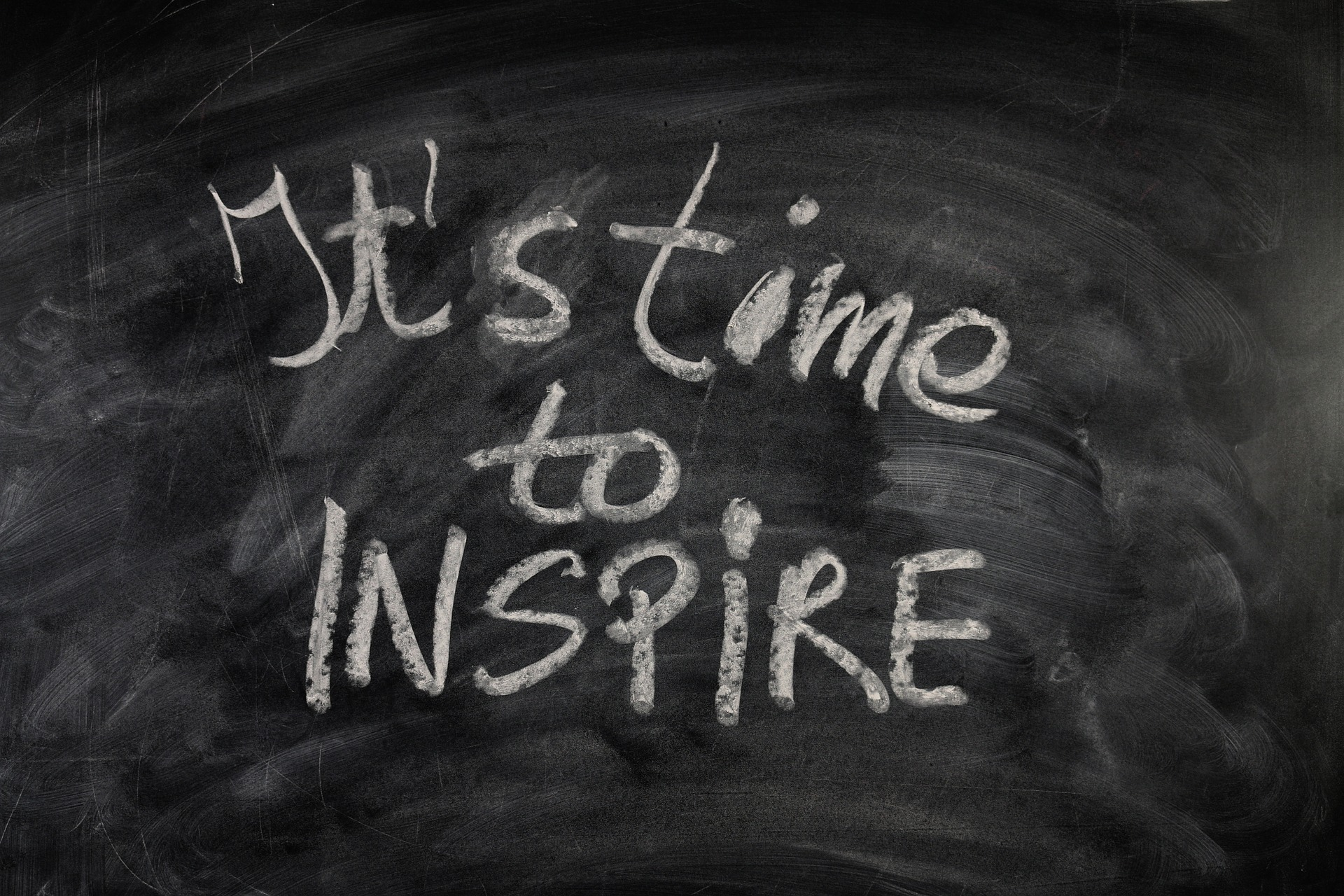 it's time to inspire on a board