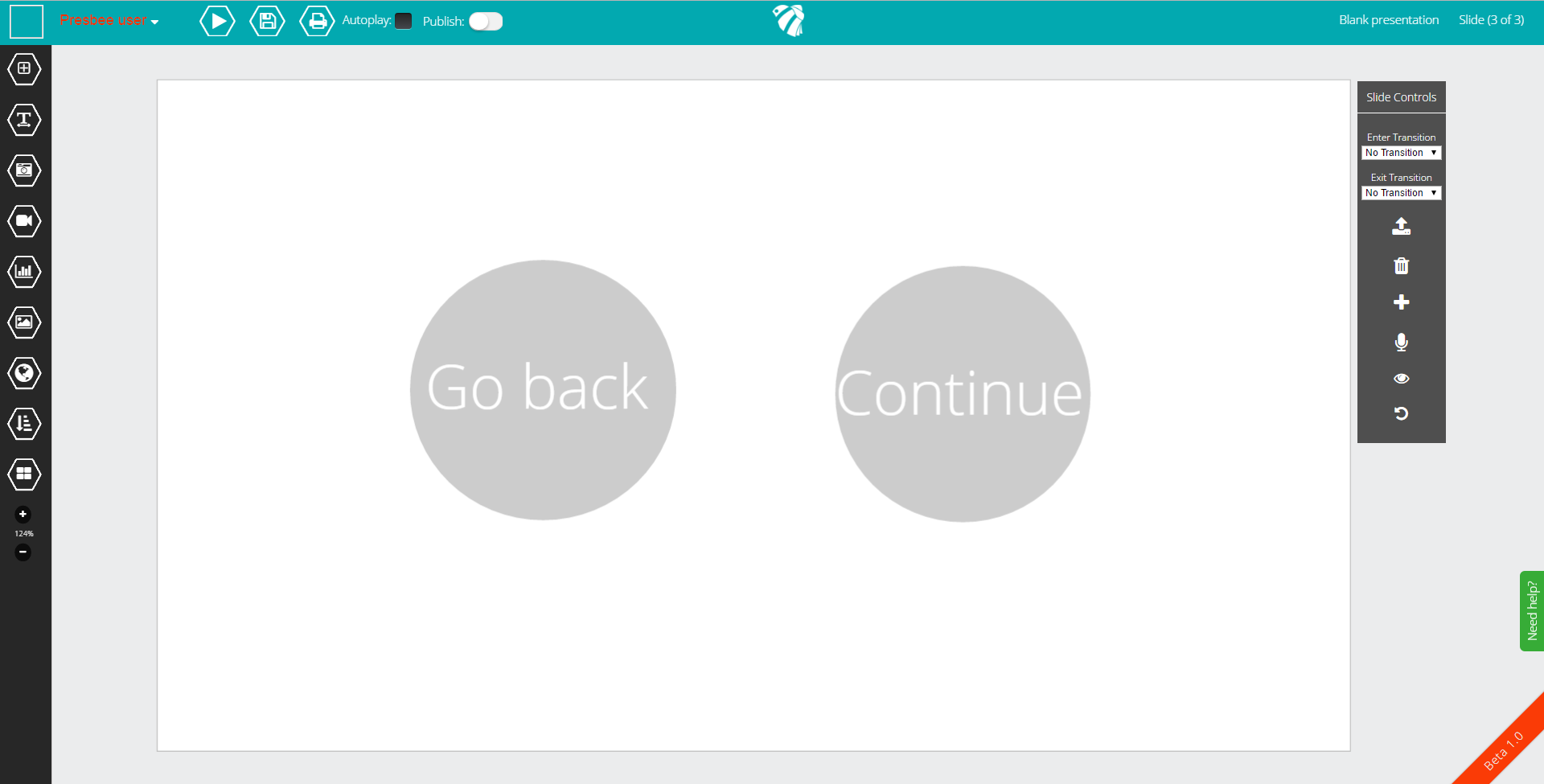 Fully interactive presentations