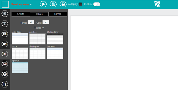 adding excel to presentations