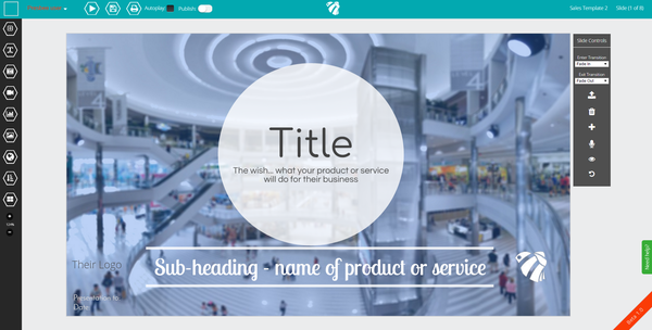 presentation design template