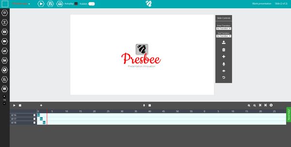event based transitions